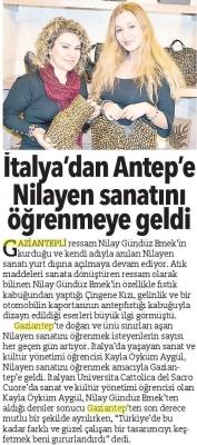 İtalya'dan Gaziantep'e